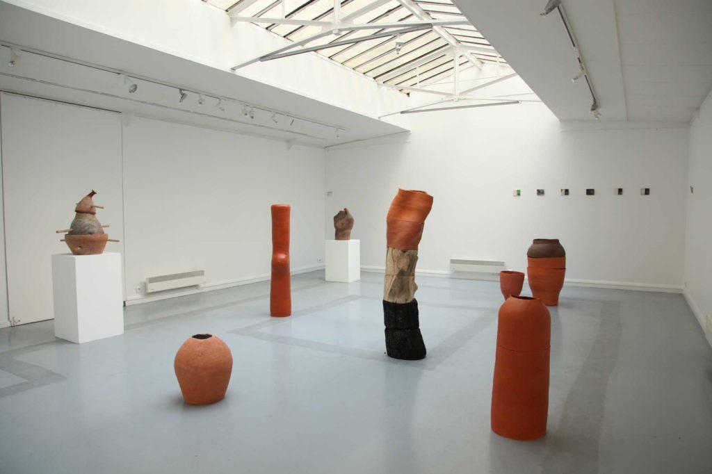 © Degré 7 - Vue d'exposition Les voyages de la terre, galerie du Crous, Paris, 2011